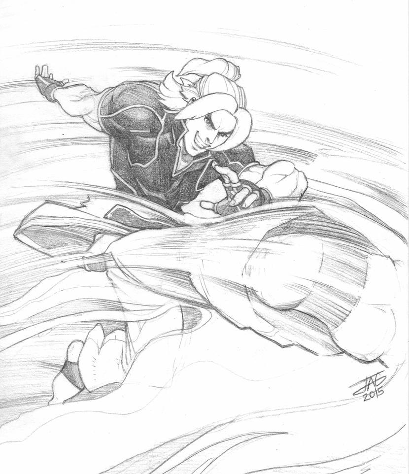 Ken Masters - Street Fighter V by JAG-Comics