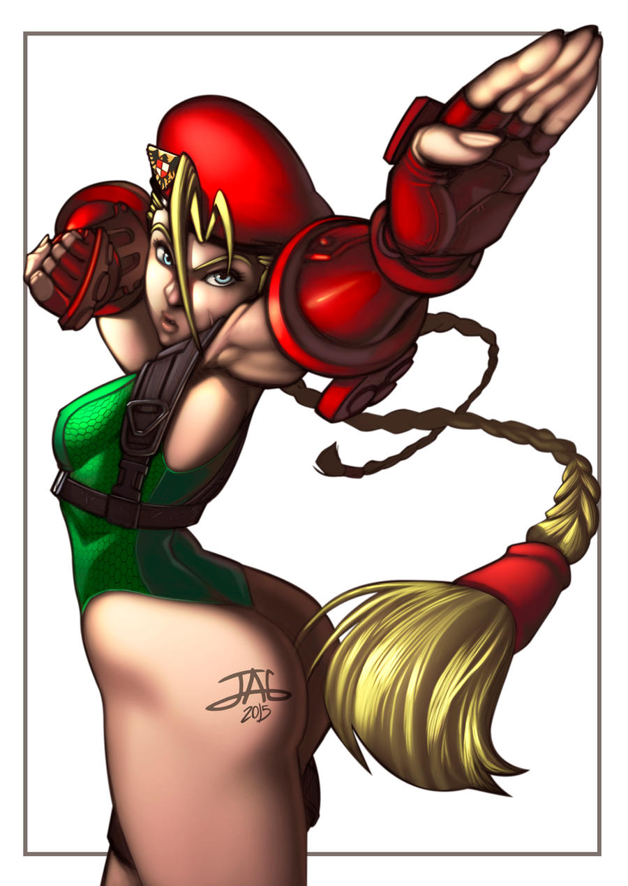 Cammy colors by JAG-Comics