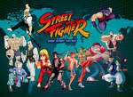 Street Fighter 1 Poster Collab