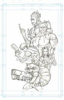 comic book Guardiansofthegalaxy titomiranda2014