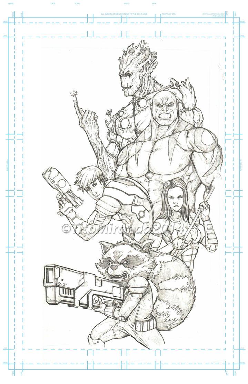 comic book Guardiansofthegalaxy titomiranda2014 by TITO-MIRANDA