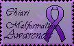 Chiari Malformation Awareness stamp 1 by EruptionSolar