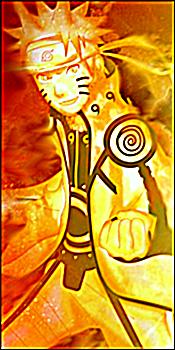 Avatar Naruto Mode Bijuu