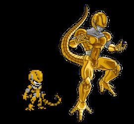 Sprite Metal Gold Cooler