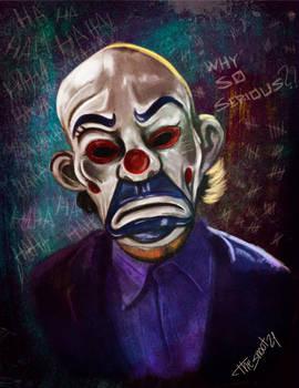 Joker Color painting
