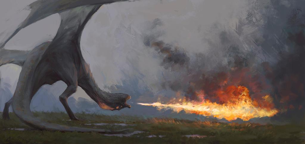 dragon by VyacheslavSafronov