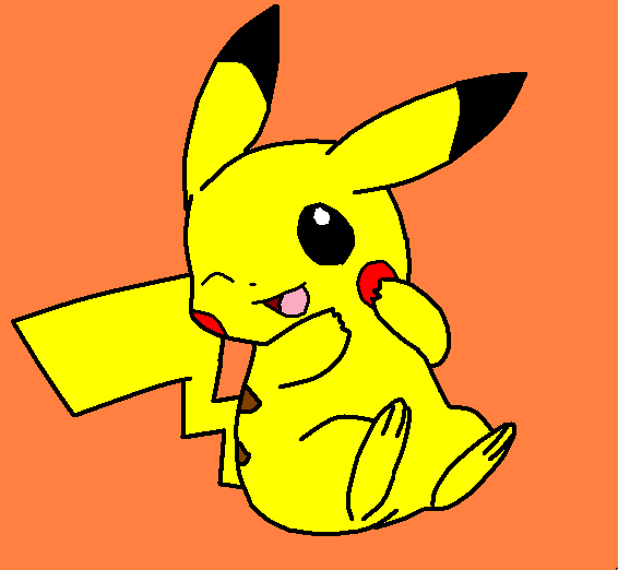 My Awesome Pikachu by PennsylvaniaAnime