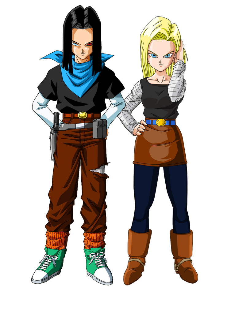 C17 and c18 by zaydensmith on deviantart - Dragon ball z c18 ...