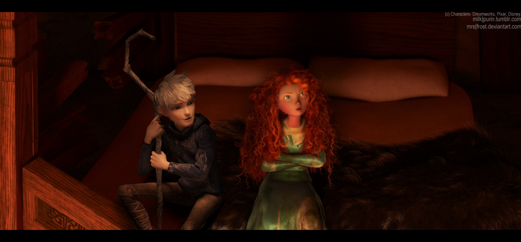 Don't ignore me, Merida... by mrs-frost