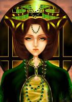 Emotionless Princess by beebeerai