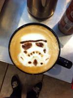 Stormtrooper Latte by Coffee-Katie