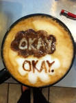 The Fault in Our Stars Latte