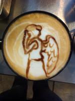 Weeping Angel Latte by Coffee-Katie