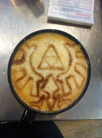 Triforce Latte by Coffee-Katie