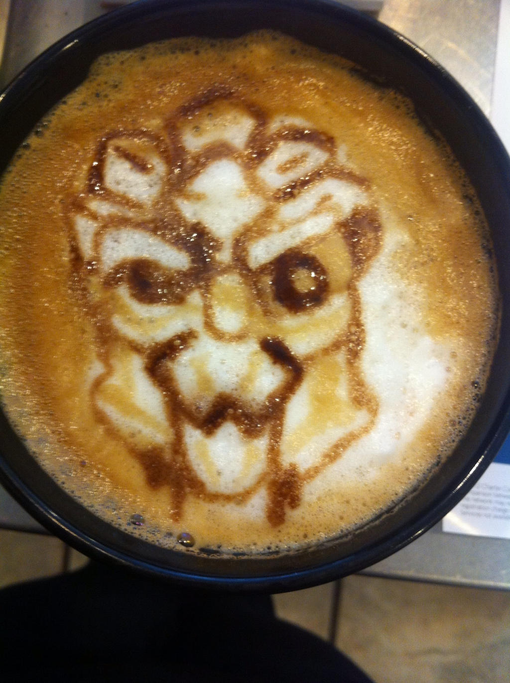 Garrus Latte Request by Coffee-Katie