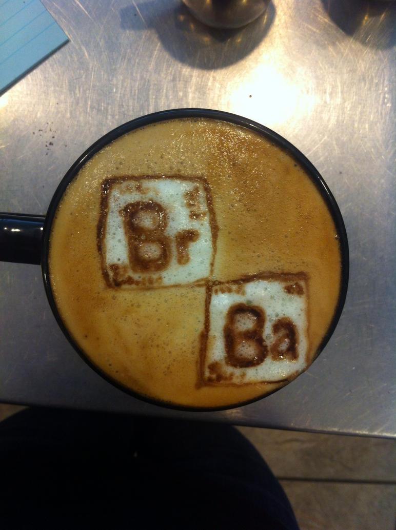 Breaking Bad Latte by Coffee-Katie