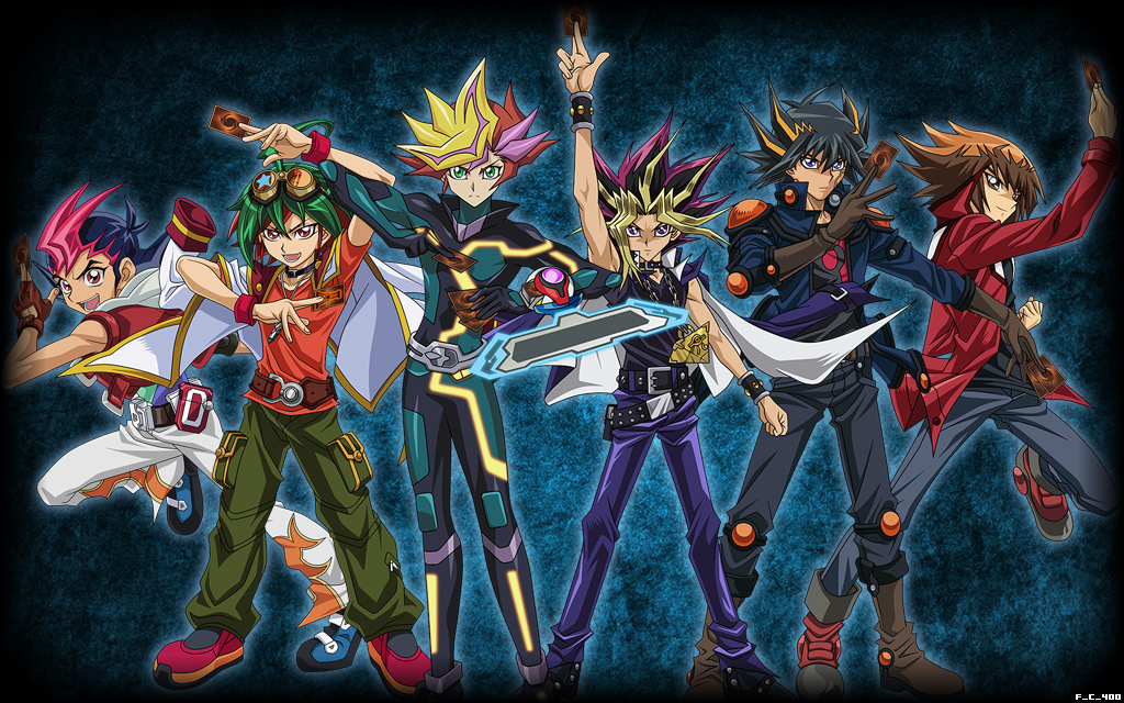All yu gi oh protagonists wallpaper background by - Yugioh art wallpaper ...