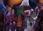 Walking the Bazaar [Commission]