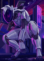 Neon Hunt [Commission]