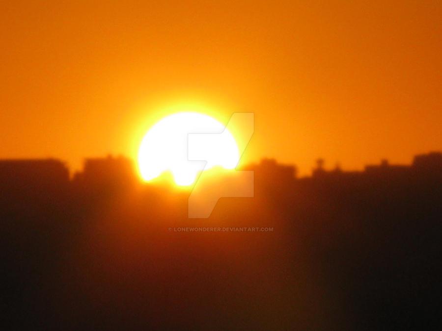 Sunrise by lonewonderer
