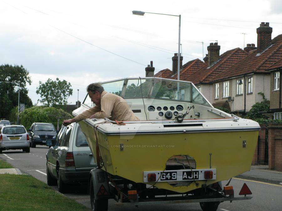random boat dude by lonewonderer