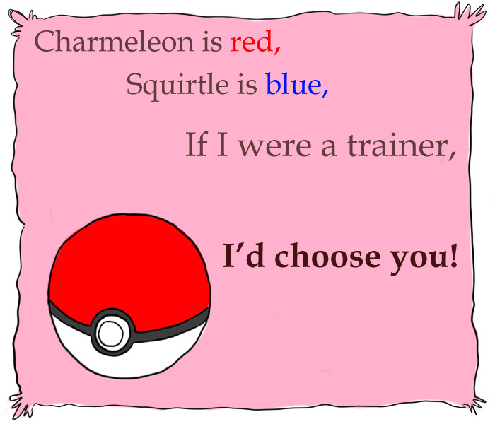 I choose you, Valentine! by The-Quoi