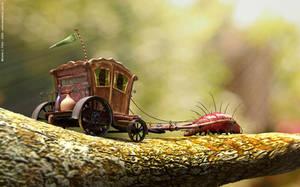 Lagarta carroceira by Beleleu
