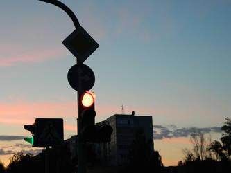 traffic light by RiJei