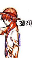 Mugiwara Luffy - 3D2Y