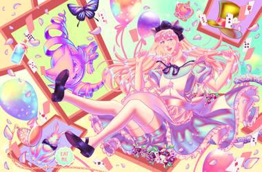 Alice in Wonderland by SwedenLena