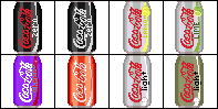 Free Avatar Pack-Pixel Coke by SillyWereWolf