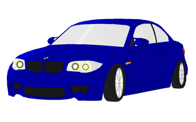 BMW 1m by SillyWereWolf