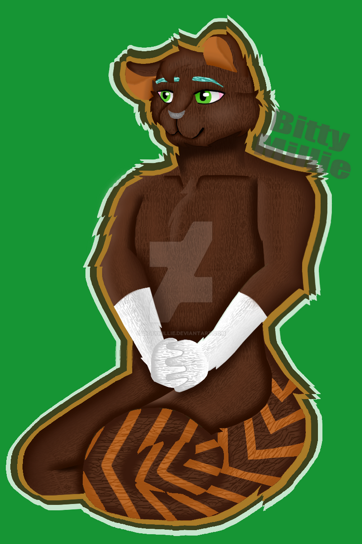 Chocolatey Squirrel!  by BittyMillie