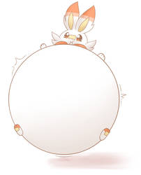 Inflated Scorbunny
