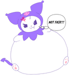 Kuromi inflated