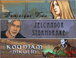 Banner Collection - Argent Archives by Valadomi