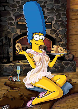 simpsons marge
