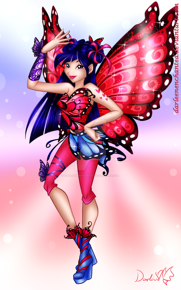 Winx Club Butterfly Fairy Musa By Darleenenchanted On Deviantart