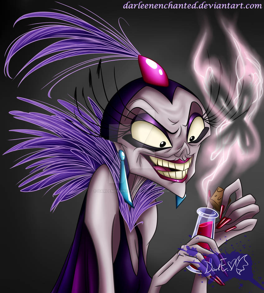 Yzma's new power approaches...