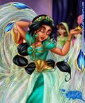 Princess Jasmine Live Action - Harvest Dance