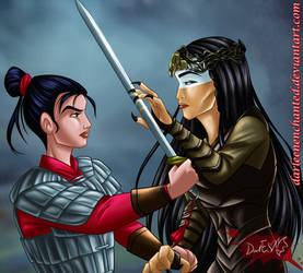 Mulan vs Xian Lang - Mulan Live Action