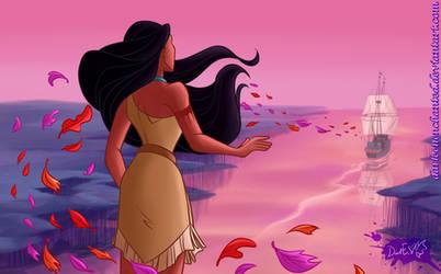Disney's Pocahontas Illustration 2020 Redraw