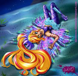 Darleen in the Infinite Ocean (Underwater Hair)