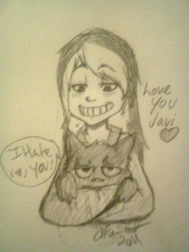 Love you my little Pokemon by HawtayanPunk