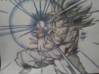 Goku (Kakarot)  by Ernest94