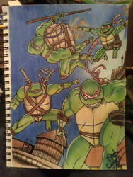 Teenage Mutant Ninja Turtles by Ernest94