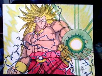 Broly The Legendary Super Saiyan by Ernest94
