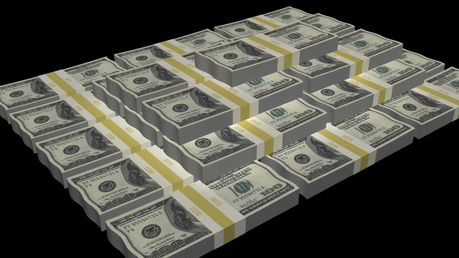Money Stacks Wallpaper