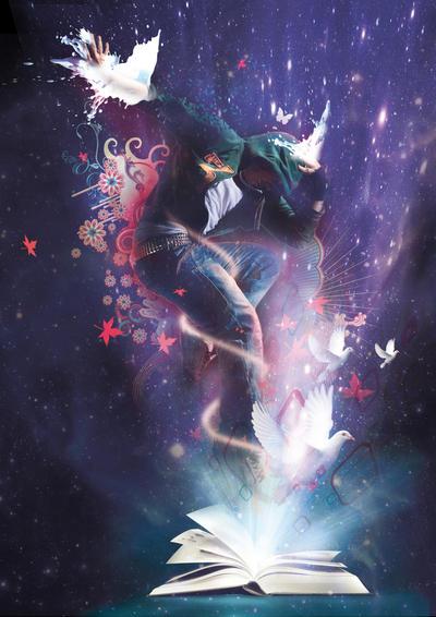 La Magia en Hechizos, segunda parte. Objetos Mágicos Poderosos. The_magic_book_by_trandangnguyen-d1xqxzy