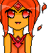 Adventure Time: Flame Princess Icon (Free to use) by xMemoriesxXx